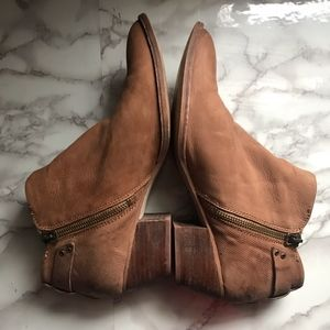 Dolce Vita Shoes - Dolce Vita Leather Brown Ankle Boots